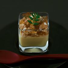 西京味噌とチーズの冷製茶碗蒸し