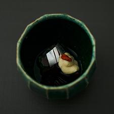 鮗の白酢かけ
