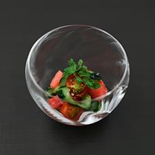 西瓜 トマト 胡瓜の塩麹和え