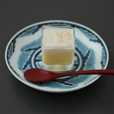 冷製茶碗蒸し  雲子  柚子