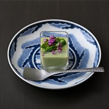 豆腐とアスパラのポタージュ  白味噌仕立て