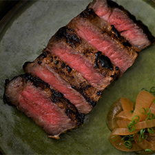 牛肉の酒粕焼き