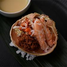 【旬皿】香箱蟹  柚子酢味噌タレ